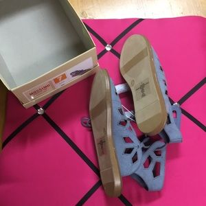 Mossimo Supply Co. Shoes - NWT Mossimo size 7 blue sandals